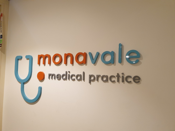 Mona Vale Medical Practice 3D Signs