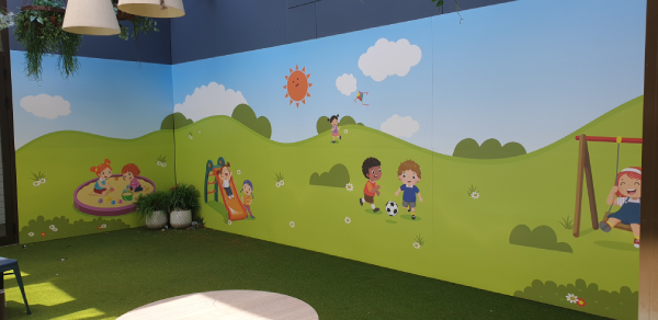 Pittwater RSL Wall Graphics Kids Room