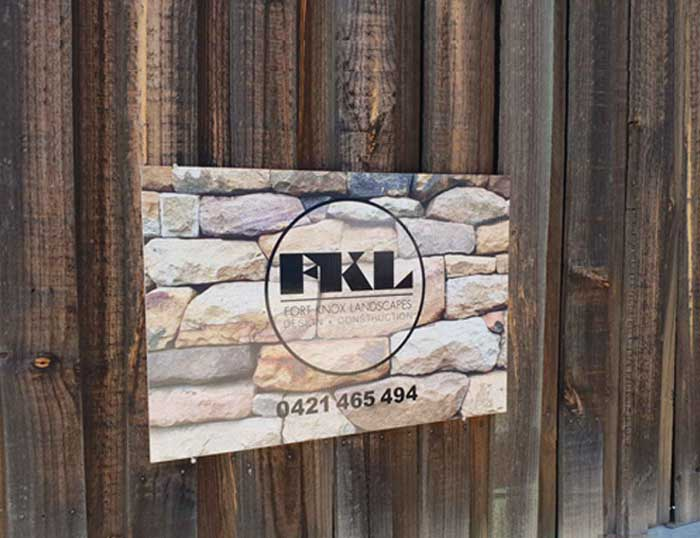 Trade and Site Signs